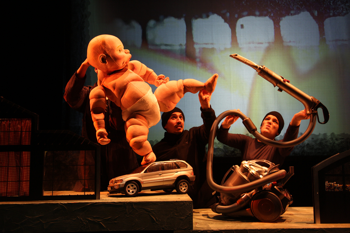 Terrapin Puppet Theatre - Big Baby sat 5th July 2014 picture byPeter Mathew